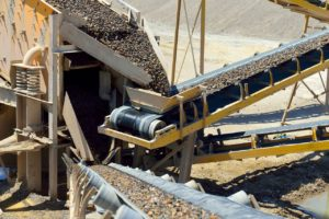 Aggregate Mining operation
